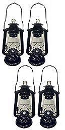 OMNI Black Hurricane Kerosene Lantern Wedding Hanging Light Camping Lamp - 12\