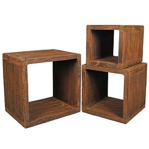 Partager facebook twitter pinterest actuellement - Table de chevet cube ...