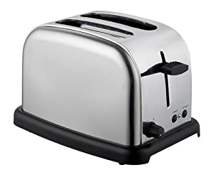 Frigidaire Fcl103/h 1050w 2 Slice Toaster Stainless Steel