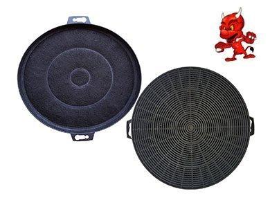 Sparset 2 Filtres À Charbon Actif Filtre Filtre charbon pour hotte Hotte d'aspiration BSH - groupe 353121 / 00353121