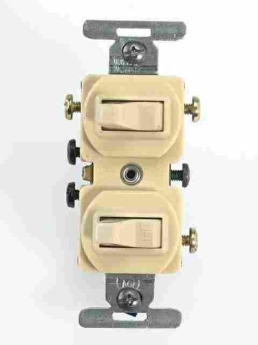 cooper wiring devices 275v box 3 way combination toggle switch switches outlets wall plates