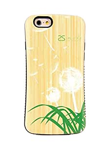 iPhone 6S Case / iPhone 6 Case, Tough Shield [Drop Protection] Soft Interior [Scratch Resistant] Perfect-Fit [Shock Absorbing] [Non-Slip] Hybrid Hard Armor Case, Flower and Grass - 6035i1