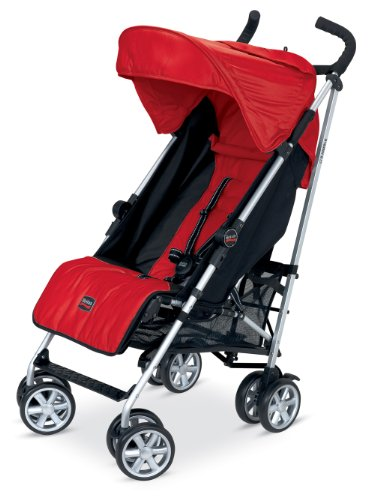 Britax B-Nimble Stroller, Red back-826798
