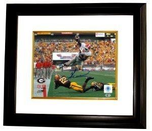 Knowshon Moreno signed Georgia Bulldogs 16x20 Photo Custom Framed
