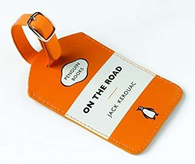 On the Road Orange Penguin Luggage Tag from Wild and Wolf