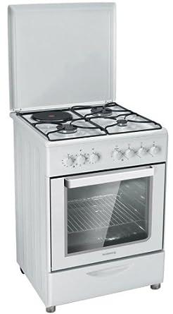Rosieres RMC 6321 RB cuisinière - fours et cuisinières (Autonome, Blanc, Electrique, Combiné, 220 - 240 V, Convection, décongeler, Grill)