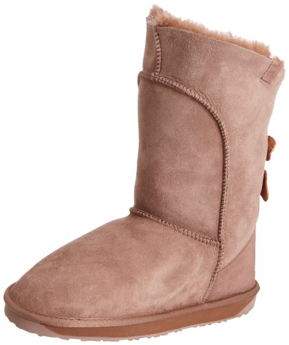 Emu Australia Women's Alba Mushroom Mid Calf Boots W10088 6 UK