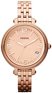 Fossil Ladies Quartz Stainless Steel watch #ES3182