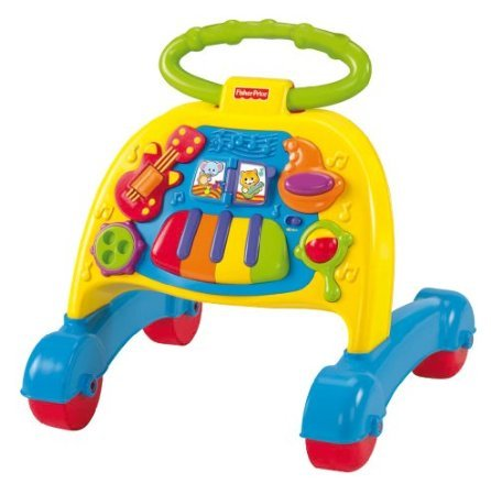 Fisher-Price Brilliant Basics Musical Activity Walker back-825962