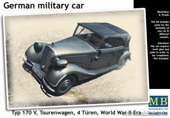 Masterbox German Military Car MAS35100