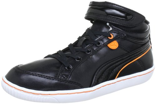 Puma Avila Mid Wn's High Top Womens Black Schwarz (black-bird of paradise-white 06) Size: 3.5 (36 EU)