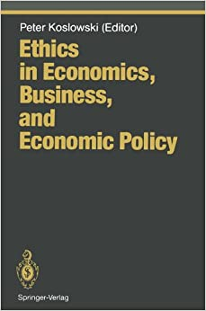 on ethics and economics book review Top 5 best business ethics books reviewed best selling books / textbooks & reviews capital in the twenty-first century business ethics has been a hot topic in recent years following the last economic meltdown.