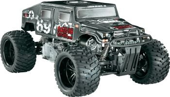 Reely 1.5Petrol large model Monstertruck Carbon Breaker Pro 2WD CF-6MT RtR 40 MHz FM
