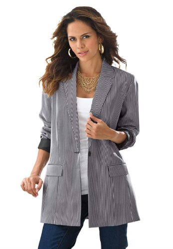 An array of plus size jackets and vests are ideal for transforming any outfit and to take your fashion to the next level. At the same time, a great jacket or plus size blazer can even allow you to wear something that you would otherwise only be able to wear during the spring .