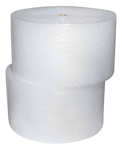 """USABubble Bubble Cushioning Wrap 3/16"""" Small Bubbles Perforated 12"""" ( 12"""" Width 175 ft)"""