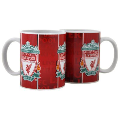 Liverpool FC Mug – 3 Crest – Football Gifts