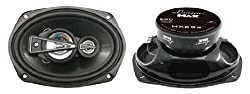 Lanzar - MX694; 6'' x 9'' 680 Watts 4 Way Coaxial Speaker
