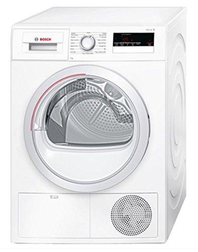 Bosch Serie 4 WTH85207IT Libera installazione Caricamento frontale 7kg A++ Bianco asciugatrice
