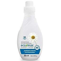 Eco-Max BPC1059919 Hypoallergenic Fabric Softener, 6 x 35 Oz.