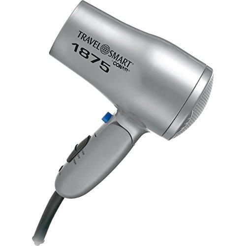Travel Smart By Conair 1875-Watt Folding Travel Mini Hair Dryer front-634515
