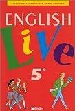 echange, troc A. Scoffoni - English Live : 5ème, livre de l'élève
