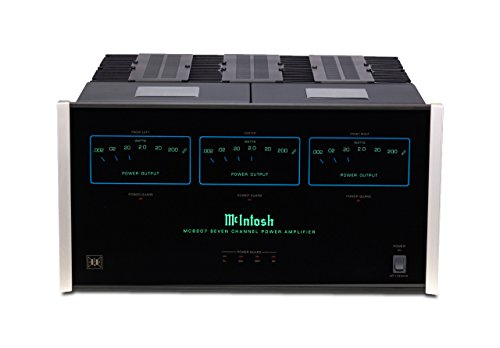 McIntosh MC8207 Power Amplifier Home Theater Systems 7 Channel 200 Watt Per