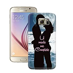 Zapcase Printed Back Case For Samsung Galaxy S6