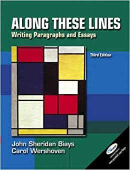 along these lines writing paragraphs and essays sixth edition Get the best deals on along these lines writing sentences and paragraphs with writing from reading strategies plus mywritinglab with pearson etext -- access card.
