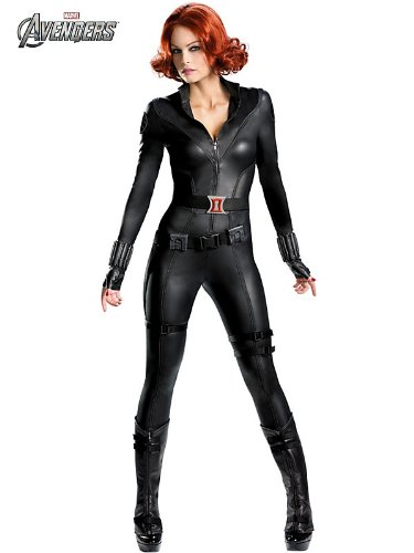 Disguise Women's Black Widow Theatrical Costume 46 Black