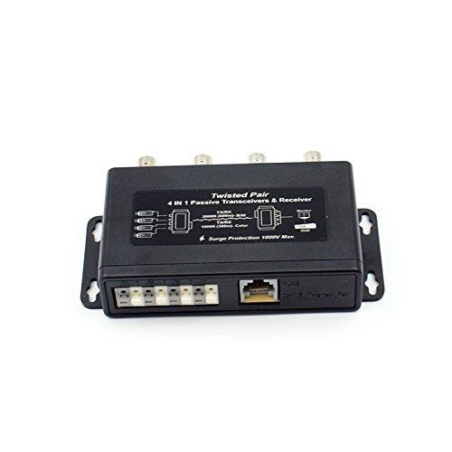 4CH Passive video balun (16 Ch 1000 Tvl Security Camera compare prices)