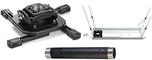 Chief KITMS018 Projector Ceiling Mount Kit, Includes RSMAU Universal Projector Mount, CMS018 Fixed Extension Column...