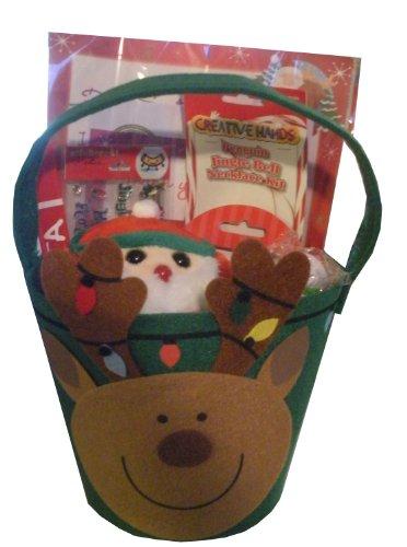 Christmas Reindeer Gift Basket