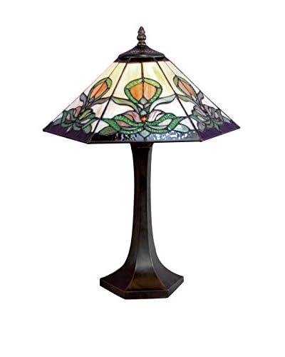 Legacy Lighting Fairway Table Lamp, Burnished Walnut