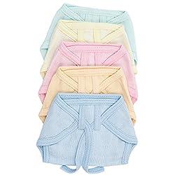 Montu Bunty Wear New born Baby Cotton Cloth Nappies (Muticolor)