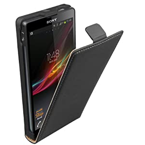 mumbi Flip Case Sony Xperia ZL Tasche