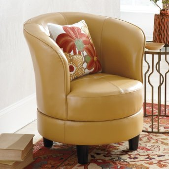 Awe Inspiring Ordernow Rebecca Leather Swivel Chair Saddle Textured Caraccident5 Cool Chair Designs And Ideas Caraccident5Info