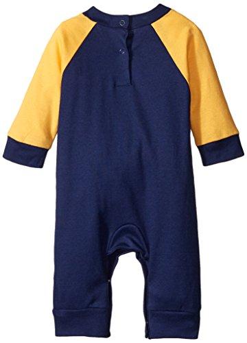Gerber Baby-Boys Newborn Navy Bear 2 Pack Coverall, Navy Bear, 6-9 Months