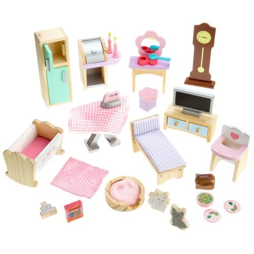 kidkraft doll house furniture set 28 pieces ebay
