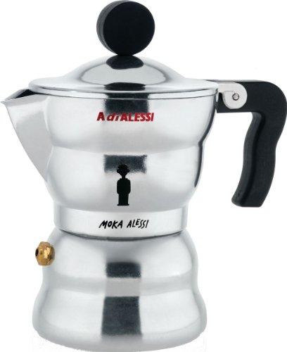 Alessi Moka Stovetop Espresso Maker - 1 Cups