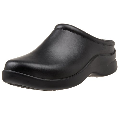 Klogs USA Women's Dusty Open Back Clog,Dusty Black,7 W US (Klogs Chef Shoes compare prices)