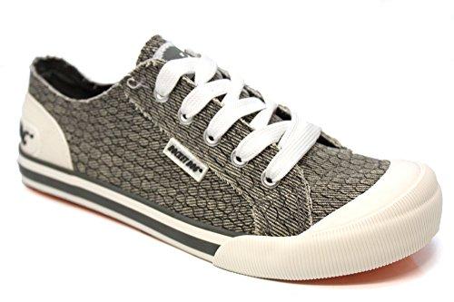 Rocket Dog, Sneaker donna Grigio grigio, Grigio (grigio), 40