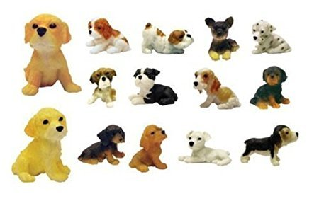 Adopt a Puppy Figures - Set of 14 Vending Machine Toys (Vending Machine Puppies compare prices)