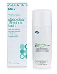 bliss® Steep Clean™ 15 Minute Facial 100ml