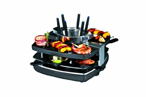 Gastroback 42559 Design Raclette-Fondue-Set