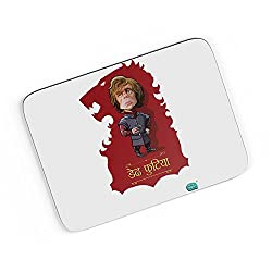 PosterGuy A4 Mouse Pad - Being Indian Dedh Futiya(Tyrion) | Designed by: Being Indian