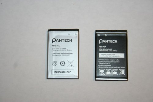 PANTECH Breeze II P2000 Battery PBR-46A 920mAh