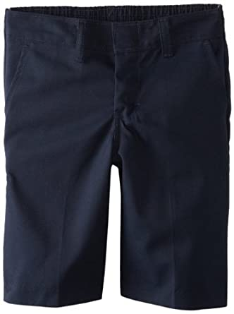 Dickies Little Boys' Flat Front Short With Extra Pocket 4 To 7, Dark Navy, 4