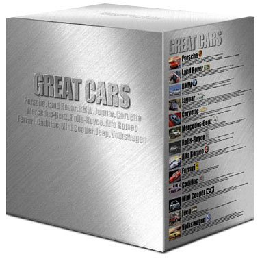 GREAT CARS グレイト・カー DVD-COLLECTION
