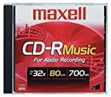 Maxell Music - 10 x CD-R - 700 MB ( 80min ) - jewel case - storage media