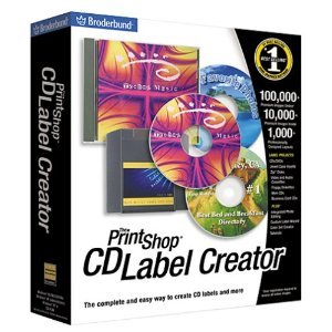 Print Shop CD Label Creator
